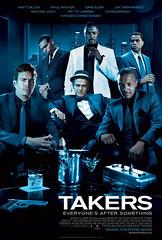 Takers poster película John Luessenhop