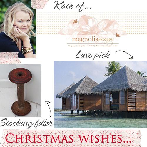 Christmas wishes Kate