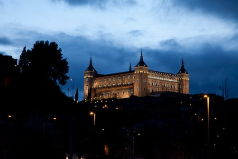 Alcázar of Toledo at Night