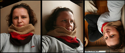 3 color cowl and me