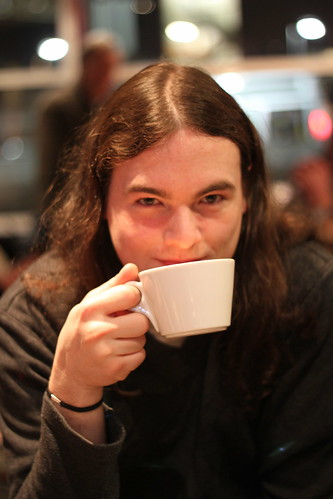 Chris over coffee