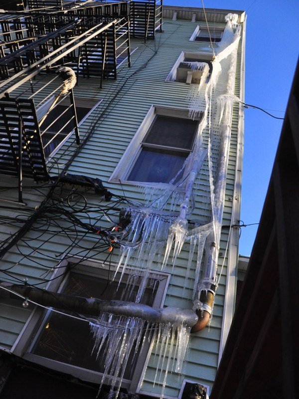 Icicles of Potential Doom