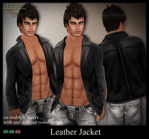 Leather Jacket (m) for TOSL
