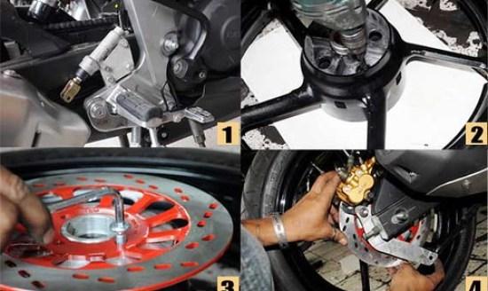 JG Motor - Pasang cakram byson