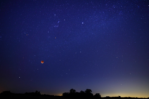 Solstice Eclipse Starscape