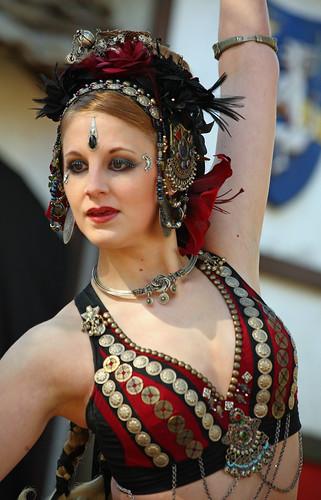 Very graceful dancer of Shunyata at the TRF