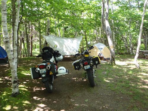 Chéticamp Campground, Cape Breton Highlands National Park, NS