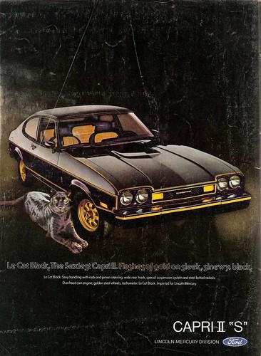 1976 Capri II S Ad