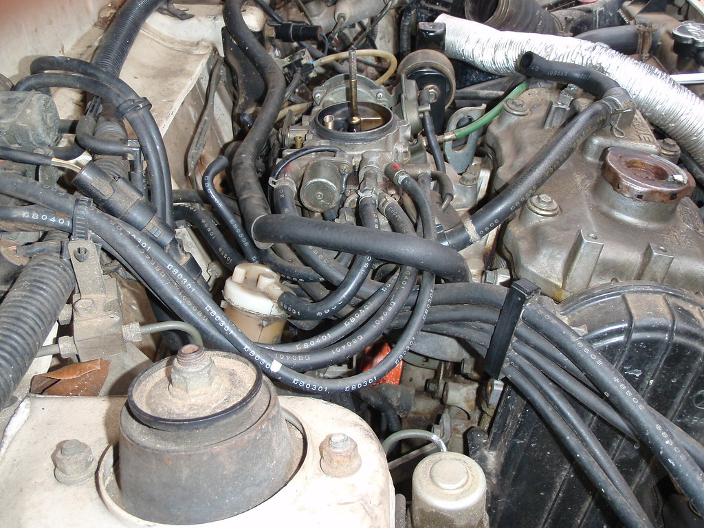 hight resolution of weber carburetor swap w pics original subaru justy forum