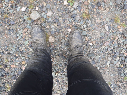 Combat Touring boots are not waterproof