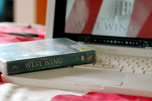 Sunday: A grey day - West  Wing