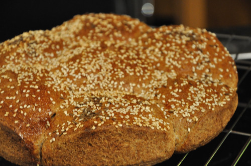 Seed Bread - Baked