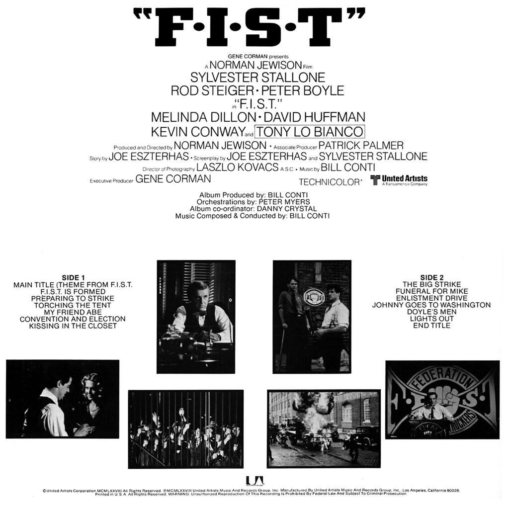 Bill Conti - F.I.S.T