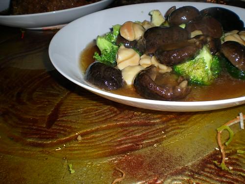 Broccoli mushrooms