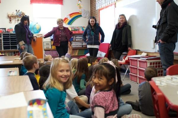Mrs Eller's 1st Grade class