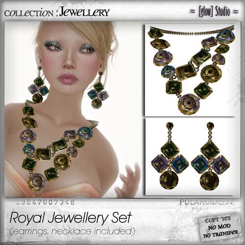 [ glow ] studio Royal Jewellery set