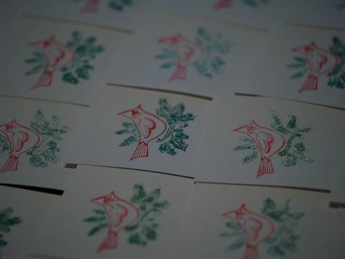 2011 Christmas Cards Step 4