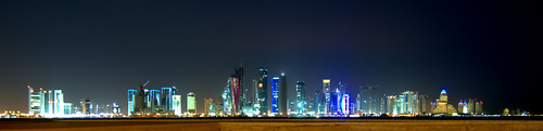 Doha Skyline from the East