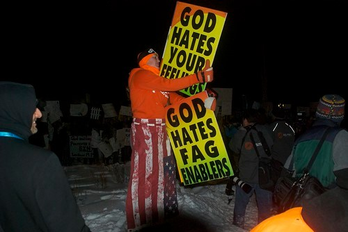 Westboro Baptist at Red State Premiere