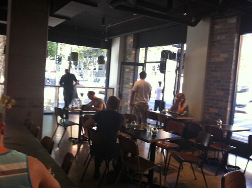 plenty of seating - mecca espresso, ultimo