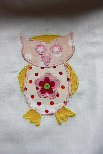 Owl tunic, size 86/92cm