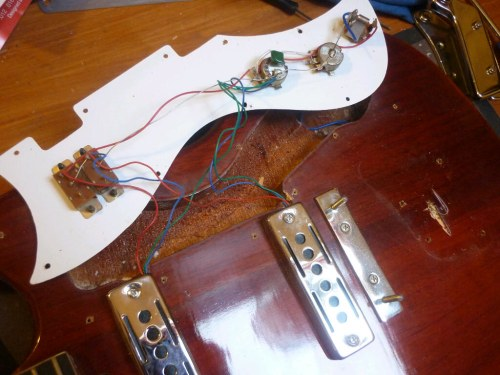 small resolution of simplicity itself the wiring of a kay sg guitar guitar upgrades at www