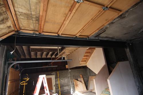 Cleaned the steel beam