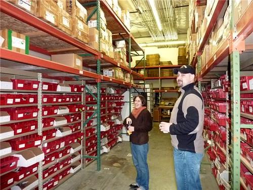 warehouse visit