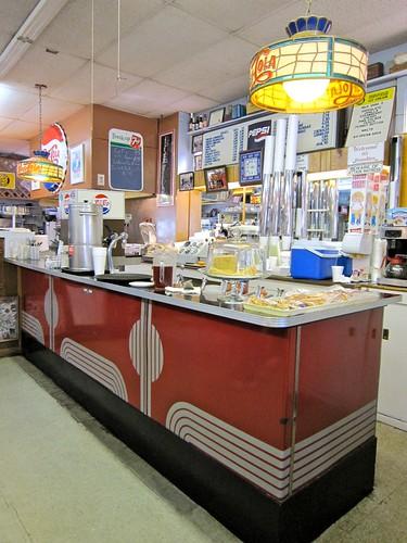 Northgate Soda Shop Deco Ice Cream Counter