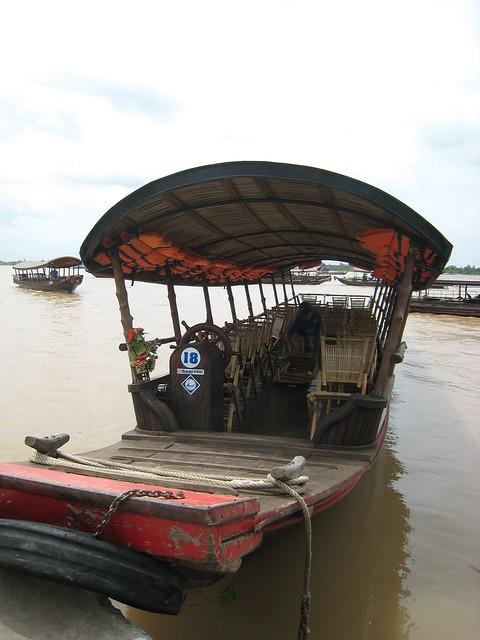 boat, mekon, vietnam