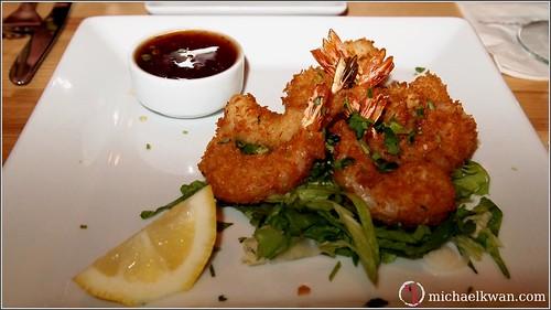 Crispy Honey Phyllo Shrimp