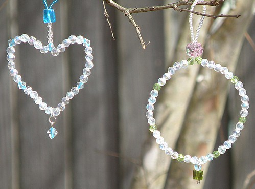 tree jewelry-heart and circle