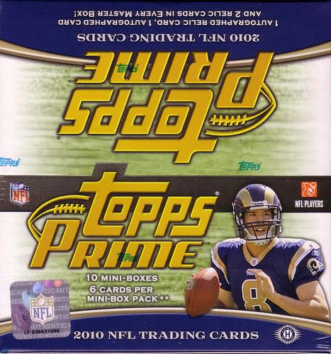 2010 Topps Prime box