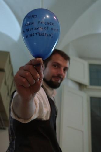 Portrait en ballon I