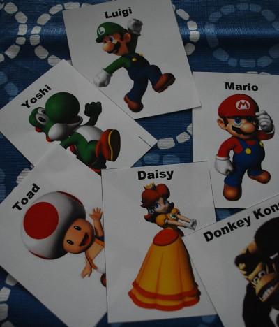 Mario Who Am I Game