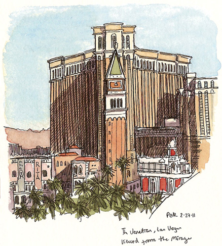 the venetian from the mirage