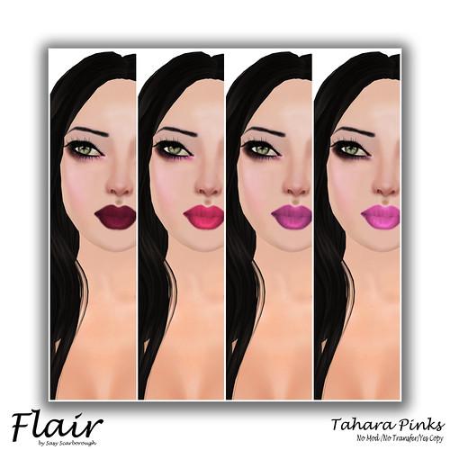 Flair - Tahara Pink Pic