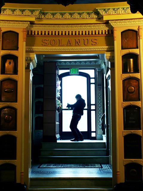 rachel in the doorway
