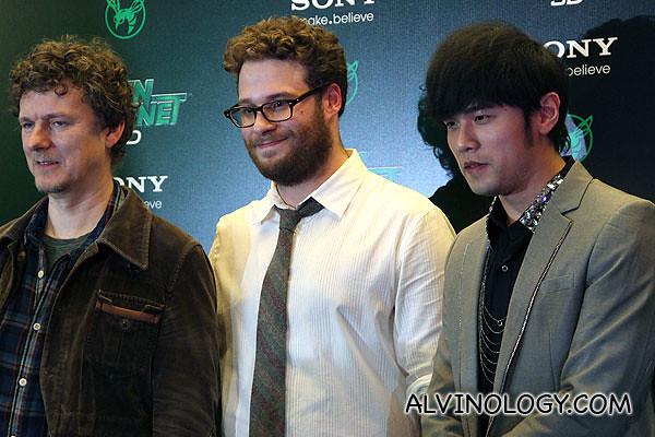 Presenting... Michel Gondry, Seth Rogen and Jay Chou