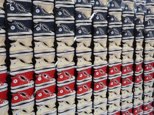 Wall of Converse, Bread and Butter
