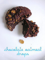 chocolate oatmeal drops