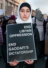 Libyan community protest in Dublin (3)