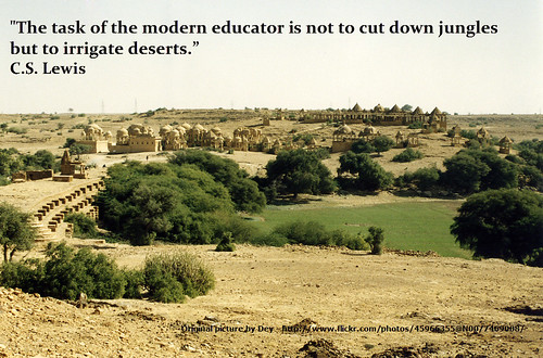 Task of the modern educator by Ron Houtman, on Flickr