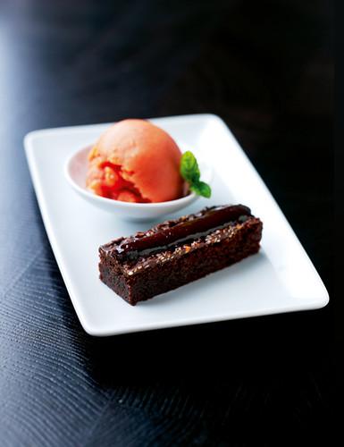 Chinese chocolate brownie-1