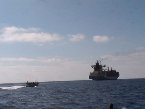 """Victoria"" Cargo Ship Carrying Weaponry"