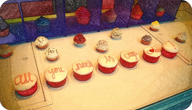 All you need is cupcakes