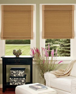 bamboo insulated shade country curtains