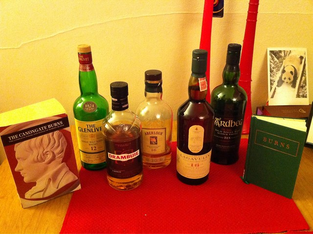 Yay Scotch!!!!! #burnsnight