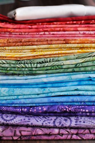 Batik Lucky Stars Quilt