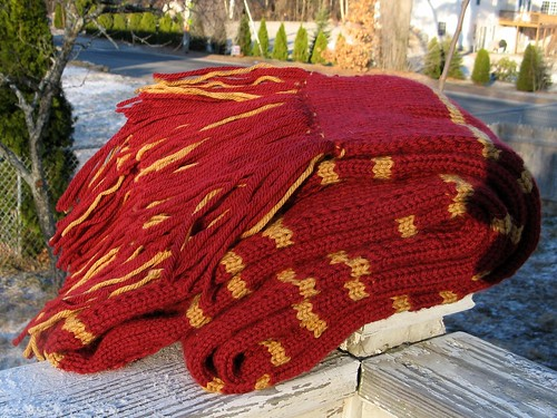 1863 HP scarf the third